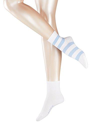 ESPRIT Damen Block Stripe Socken - 2 Paar, Größe 35-42, versch. Farben, Baumwollmischung - Doppelpack mit modischen…