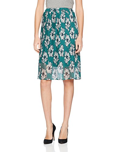 TOM TAILOR Damen Printed Plissee Skirt Rock