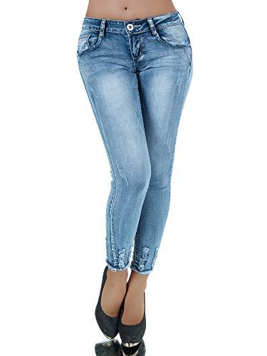 Damen Jeans Hose Hüfthose Damenjeans Hüftjeans Röhrenjeans Röhrenhose Röhre P209