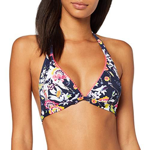 ESPRIT Damen Boulders Beach Pad Halterneck Bikinioberteil