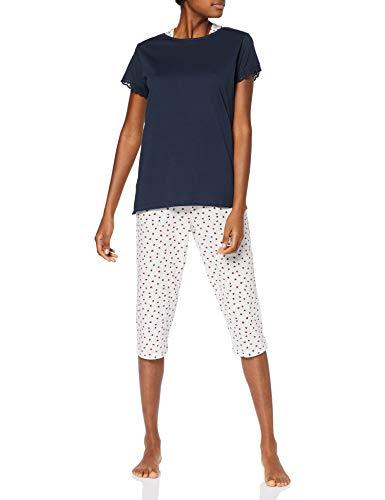 ESPRIT Damen Loulou Cas Nw Pyjama Zweiteiliger Schlafanzug