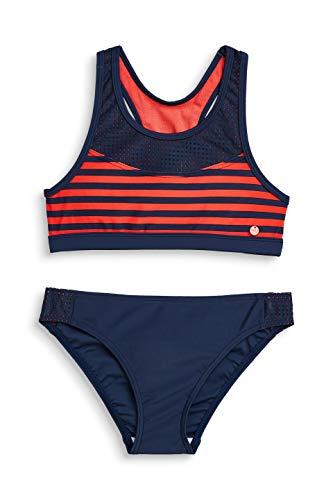 ESPRIT Mädchen Brava Beach Yg Bustier + Brief Badebekleidungsset