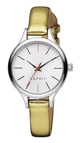 Esprit Damen Analog Quarz Uhr mit Leder Armband ES906652005