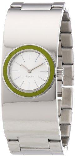 Esprit Damen-Armbanduhr XS Mono Lucent Analog Quarz Edelstahl ES106242006