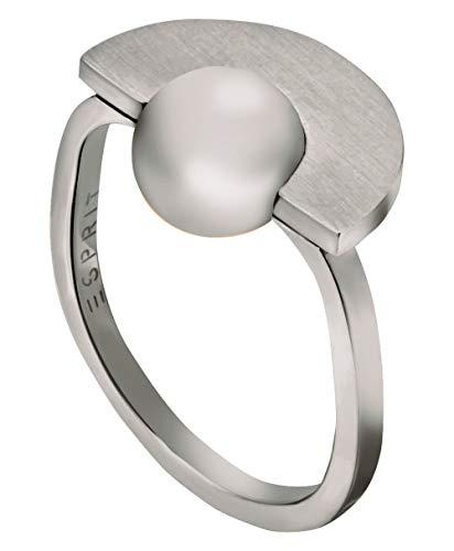 Esprit Ring mit eingefasster Edelsstahl-Perle