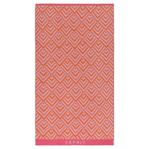 ESPRIT Strandtuch Zora Pink 100x180 cm 100x180 cm