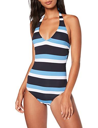 ESPRIT Damen Rachel Beach Swims. AOP Badeanzug