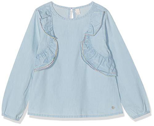 ESPRIT KIDS Mädchen Denim Blouse Bluse