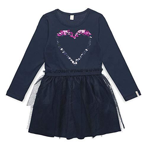 ESPRIT KIDS Mädchen Kleid Knit Dress Sequ