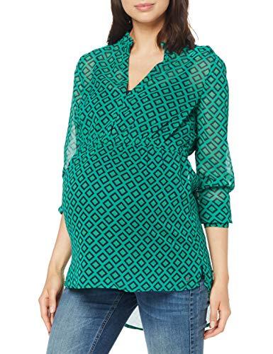 ESPRIT Maternity Damen Blouse Nursing Ls AOP Bluse