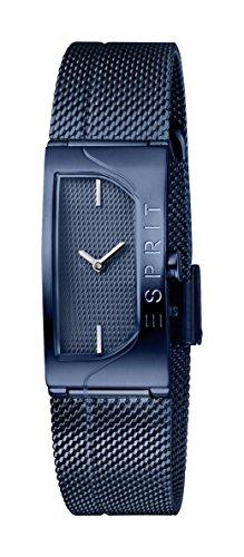 Esprit Damen Analog Quarz Uhr mit Edelstahl Armband ES1L045M0065