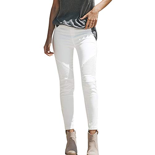 FRAUIT Damen Jeanshose Hohe Taille Stretch Hose Jeans Leggings Skinny Slim Fitness Hose Onlultimate Soft Reg. Skinny…