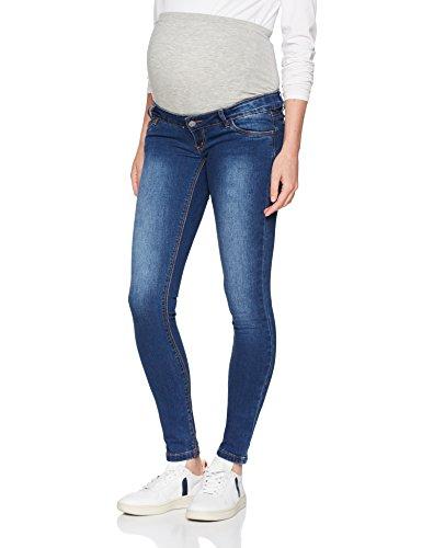 MAMALICIOUS Damen MLLOLA Slim Blue Jeans NOOS B. Umstandshose