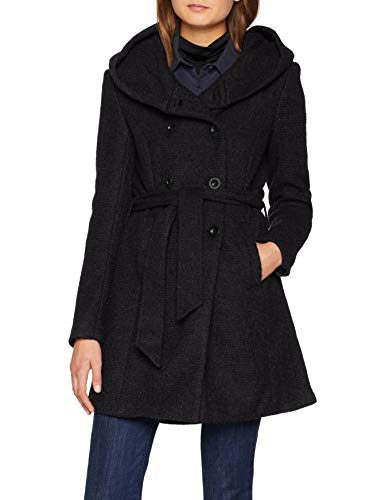 ONLY Damen Onllisa Hs Hooded Long Wool Coat Cc OTW Mantel