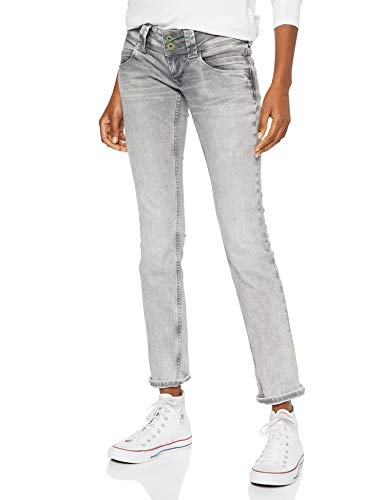 Pepe Jeans Damen Venus Wiser Wash Pl200029 Straight Jeans