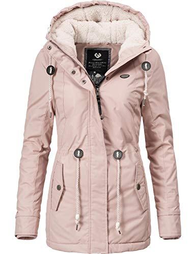 Ragwear Damen Winterparka Kurzmantel Monadis Black Label 8 Farben XS-XXL