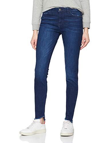 edc by ESPRIT Damen 029CC1B010 Skinny Jeans, Blau (Blue Dark WASH 901), W30/L30 (Herstellergröße:30/30)