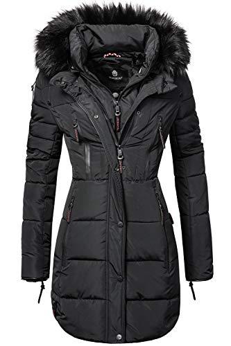MARIKOO Damen Winter Mantel Steppmantel Moonshine (vegan hergestellt) XS-XXL