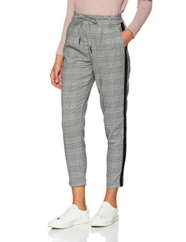ONLY Damen Onlpoptrash Soft Check Panel PNT Noos Hose