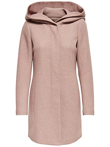 ONLY Damen Onlsedona Light Melange Coat Cc OTW Mantel