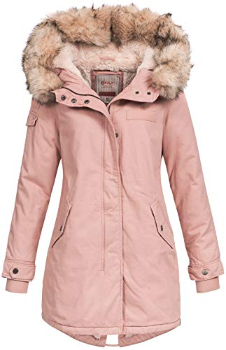 Only Damen Parka rosa L